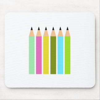 Colour Pencil Mouse Pad