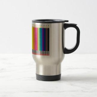 colour pencil travel mug