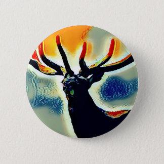 Colour Points Pinback Button