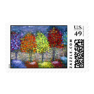 Colour Reflections Postage Stamps