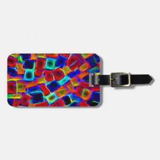 colour riot bag tag