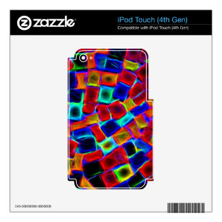 colour riot iPod touch 4G skins