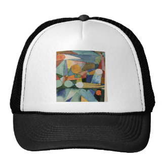 Colour Shapes by Paul Klee Trucker Hat