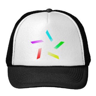 Colour Spoke Star Trucker Hat