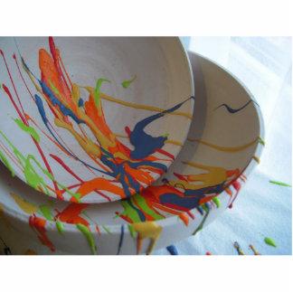 Colour Standing Photo Sculpture