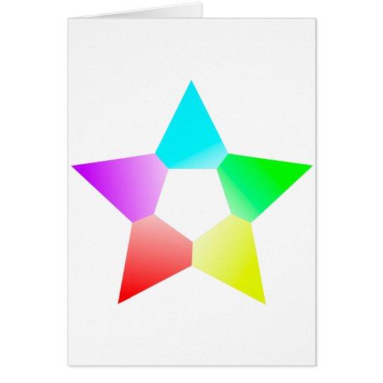 Colour Star Card