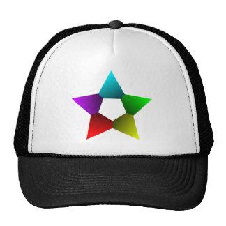 Colour Star Dark Mesh Hats
