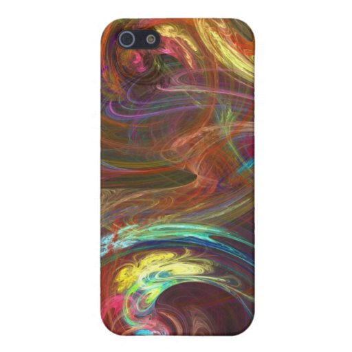 COLOUR SWIRLS CASES FOR iPhone 5