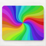 colour twisted mouse pad