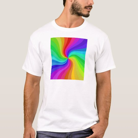 colour twisted T-Shirt