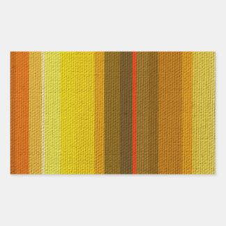Colour Variation Rectangular Sticker