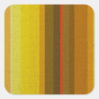 Colour Variation Square Sticker
