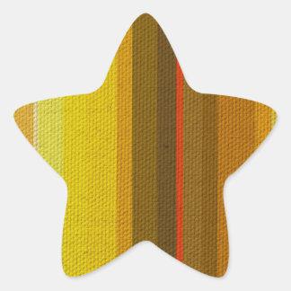 Colour Variation Star Sticker