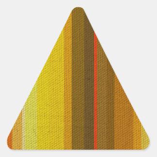 Colour Variation Triangle Sticker