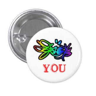 [colour] you pinback button