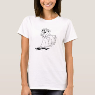 Colour-yourself tee shirt vintage fairy