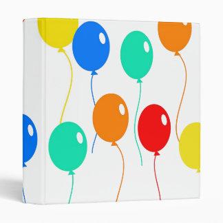 Coloured Balloons Binder
