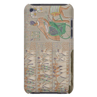 Coloured base reliefs from the south gallery of th barely there iPod case