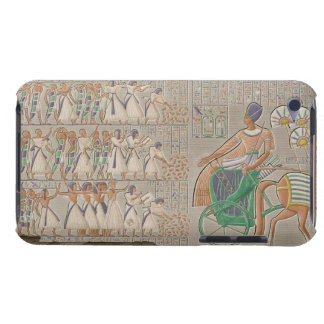 Coloured base reliefs from the south gallery of th iPod touch cover