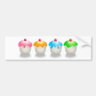 Coloured Buns Bumper Sticker