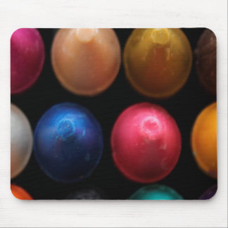 Coloured Crayons Mouse Pad