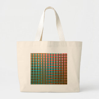 COLOURED GLASS 1 LARGE TOTE BAG
