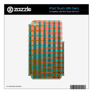 COLOURED GLASS 1 SKIN FOR iPod TOUCH 4G
