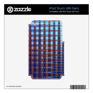 COLOURED GLASS 2 iPod TOUCH 4G DECAL