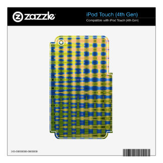 COLOURED GLASS 4 DECAL FOR iPod TOUCH 4G
