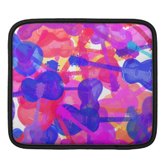 Coloured Guitar Collage Sleeve For MacBook Air