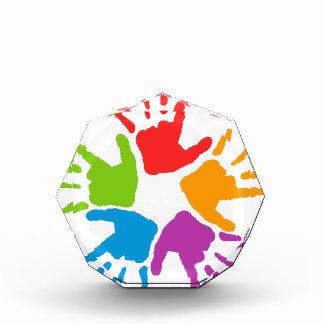 Coloured Hands Award
