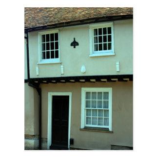 Coloured house at Saffron Walden, Essex, UK Postcard