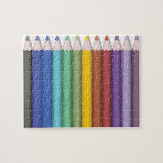 Coloured Pencil Puzzle