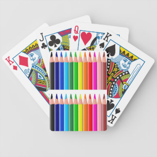 coloured_pencils_2 coloring pencils, education, no bicycle playing cards