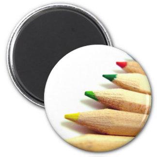 coloured pencils Artist Illustrator Magnet