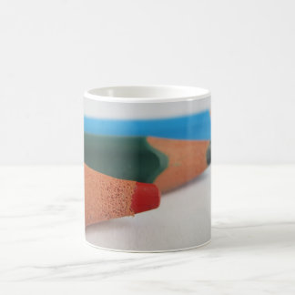 Coloured pencils coffee mug