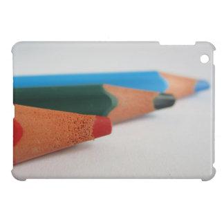 Coloured pencils case for the iPad mini
