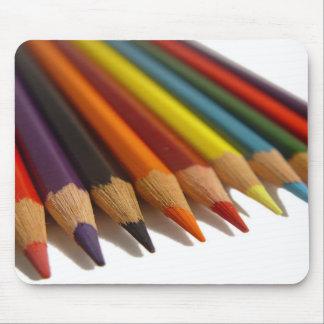 Coloured Pencils Mousepad