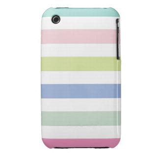 Coloured Stripes iPhone 3 Case