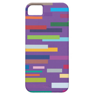 Coloured Stripes iPhone 5 Barely There Case iPhone 5 Cover