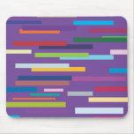 Coloured Stripes Mousepad