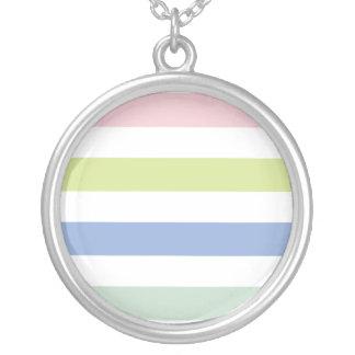 Coloured Stripes Necklace