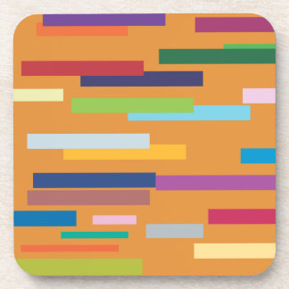 Coloured Stripes Set of Six Coasters