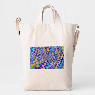 coloured  vortex  on BAGGU Duck Bag, Chestnut Duck Bag