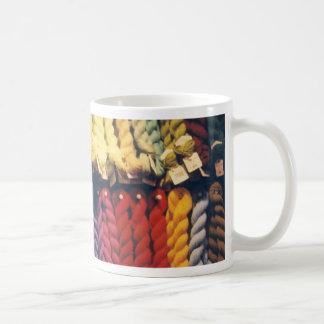 COLOURED YARNS LIBERTY COFFEE MUG