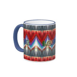 Coloures of Love ZickZack Chevron Mug