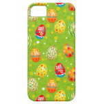 Colourfol floral decorated eggs iPhone 5 cases