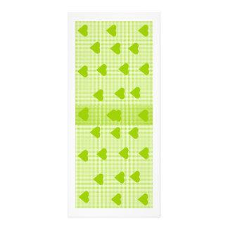 Colourful Abstract Art Book mark Rack Card