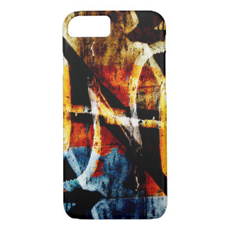 Colourful abstract graffiti iPhone 7 case
