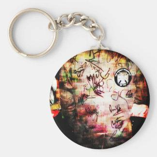 Colourful Autographs Basic Round Button Keychain